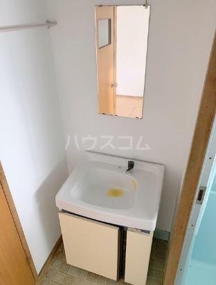 富士見コーポ 101号室の洗面所