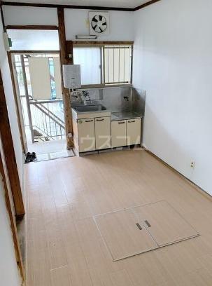 富士見コーポ 101号室の玄関