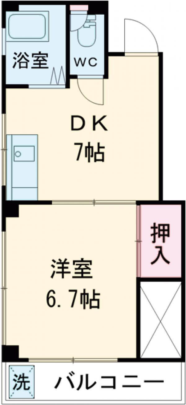 吉田マンション・302号室の間取り