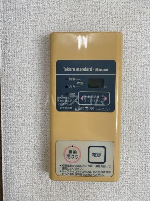 芝富士貸家1の玄関
