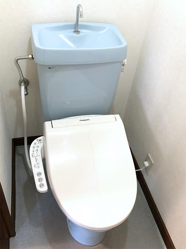 ラ・ヴェール高崎Ⅲ 208号室のトイレ