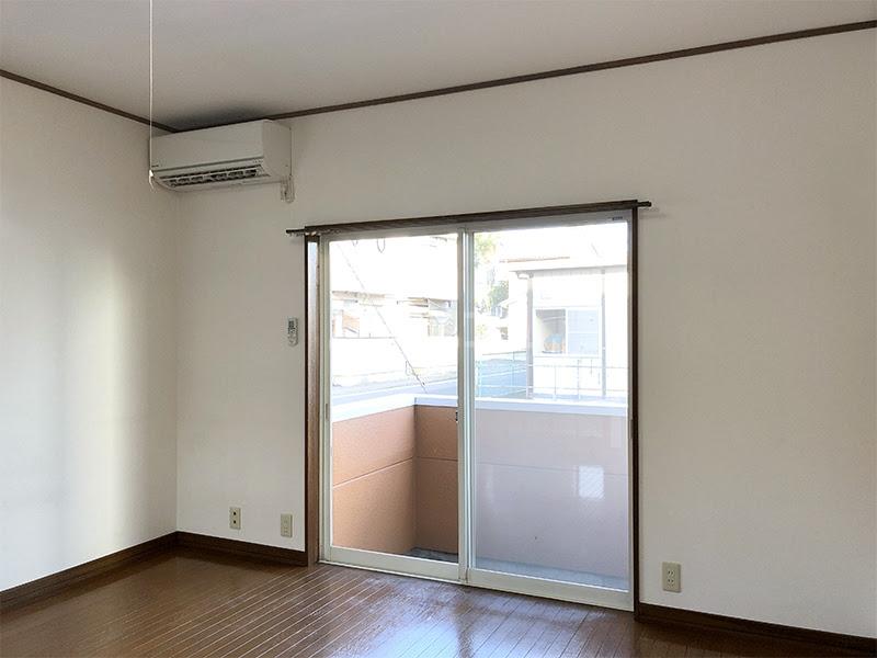 ラ・ヴェール高崎Ⅲ 208号室のベッドルーム
