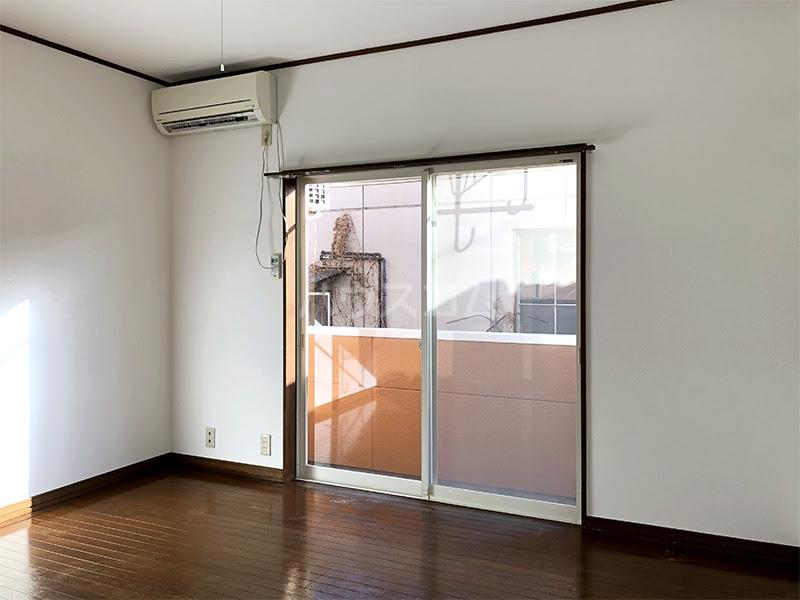 ラ・ヴェール高崎Ⅲ 202号室のバルコニー