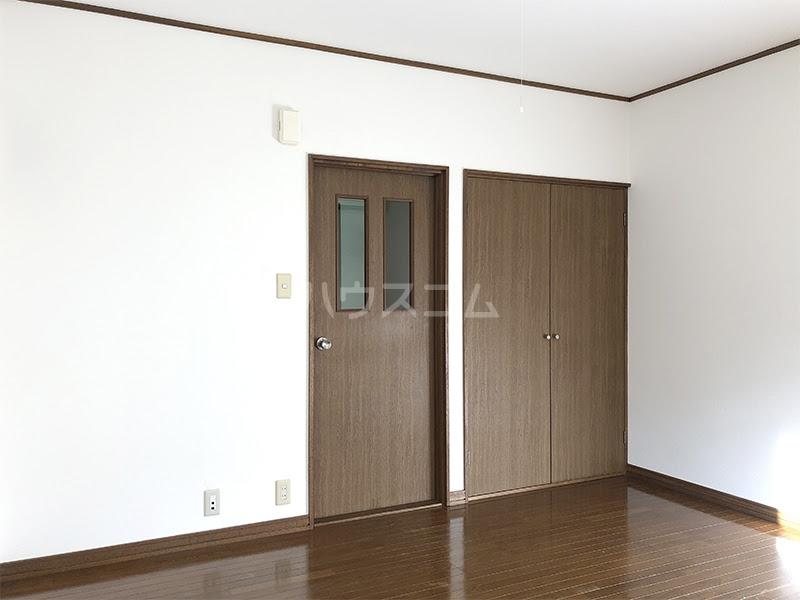 ラ・ヴェール高崎Ⅲ 202号室のベッドルーム