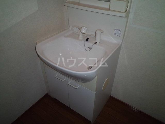 ラグーナB 201号室の洗面所