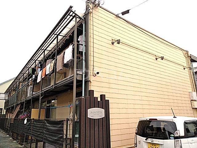 ユーハイツアヤメA棟外観写真
