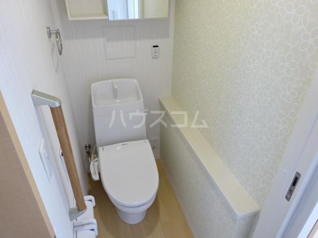 WIN'S Ⅱ 301号室のトイレ