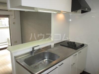 レジディア高宮 602号室のキッチン