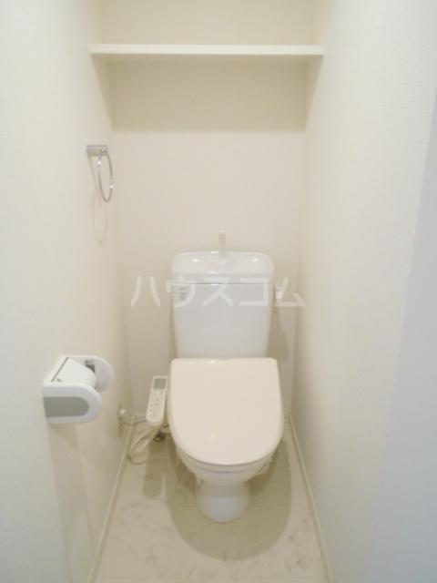 レジディア高宮 602号室のトイレ