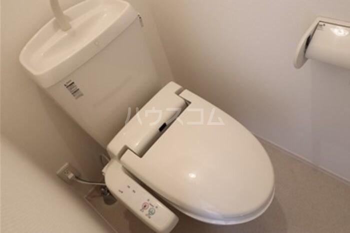 グレースライフ泉ヶ森 207号室のトイレ