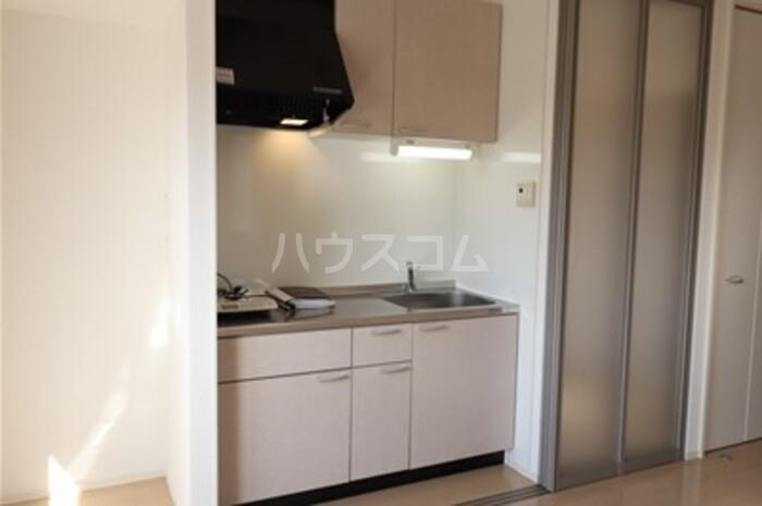 グレースライフ泉ヶ森 304号室のキッチン