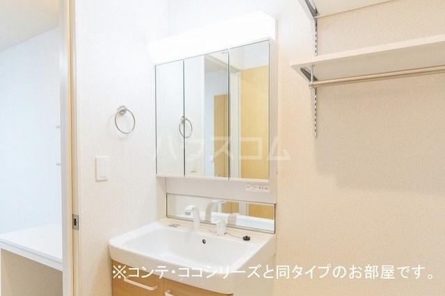 サン・シンシア 02010号室の洗面所