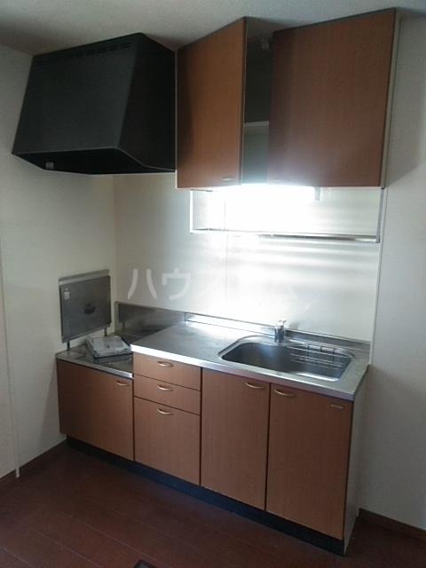 コゥジィーコート B 102号室のキッチン