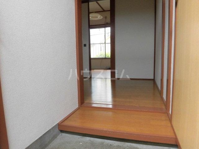 堀田アパート 202号室の玄関