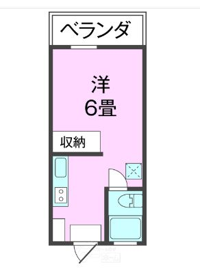 カスティージョ具志川・502号室の間取り