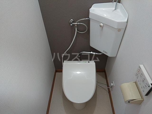 ステュディオアドニス 111号室のトイレ