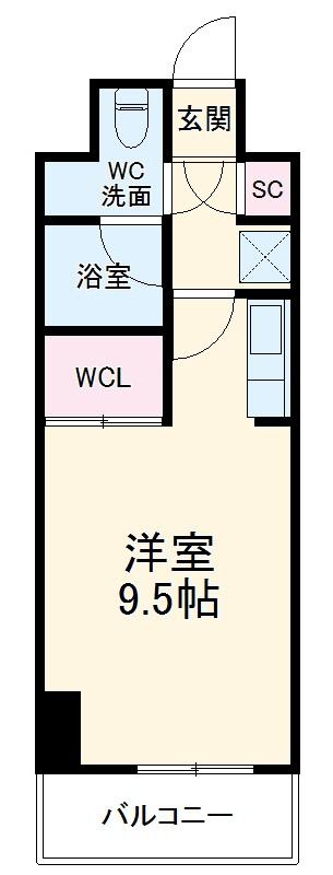 GRAN 30 NAGOYA・1006号室の間取り
