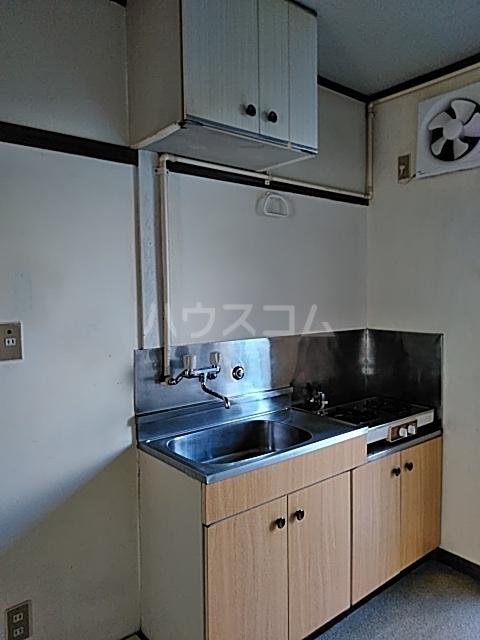 富士見荘 新館 103号室のキッチン