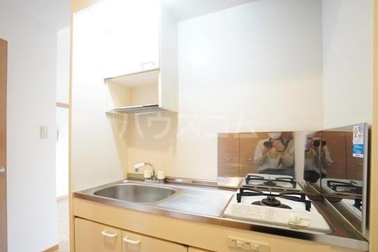シャトー'01 602号室のキッチン
