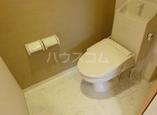アルページュ 202号室のトイレ