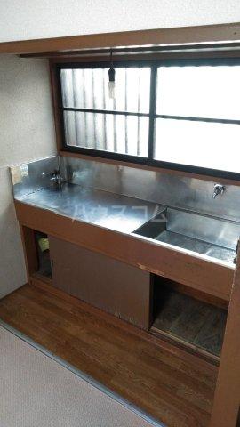 伸光荘 203号室のトイレ
