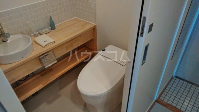 八事ガーデンヒルズ 703号室のトイレ