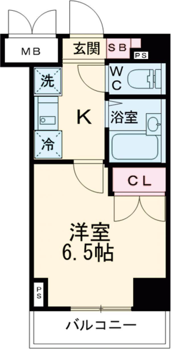 T&G東池袋マンション・304号室の間取り