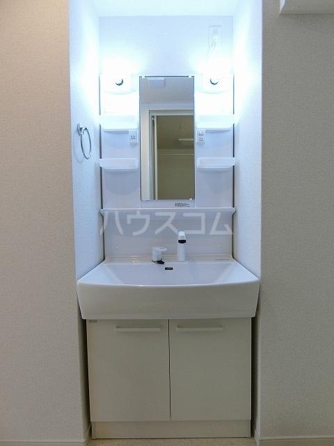 レガーメ Ⅱ 01010号室の洗面所
