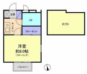 KYアパートメント・102号室の間取り
