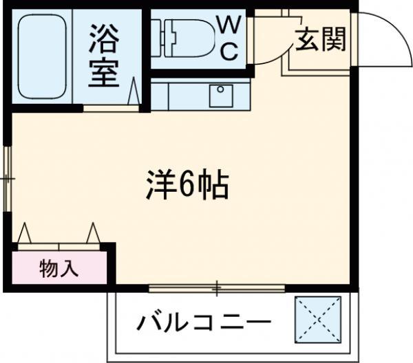 アネックス東武・306号室の間取り