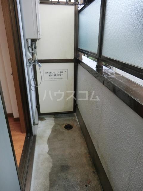 ユグドラシル 202号室のバルコニー