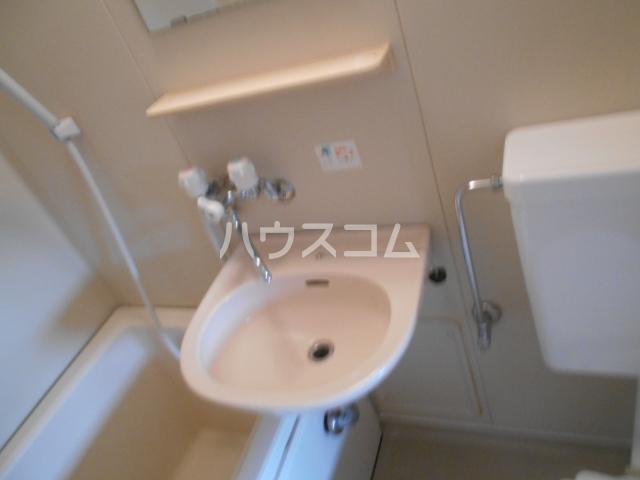 ネットワークジャパン2 201号室の洗面所