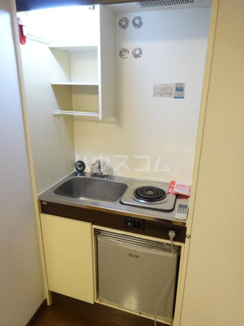 ネットワークジャパン2 201号室のキッチン