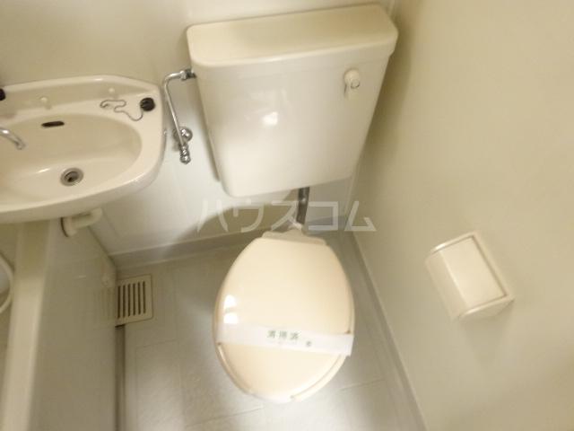 ネットワークジャパン2 201号室のトイレ