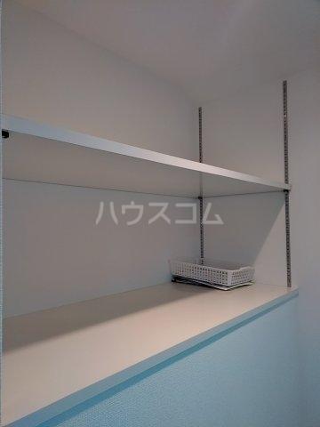 島津山ポイント 202号室の収納