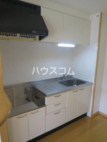 グランパ藤永田 402号室のキッチン