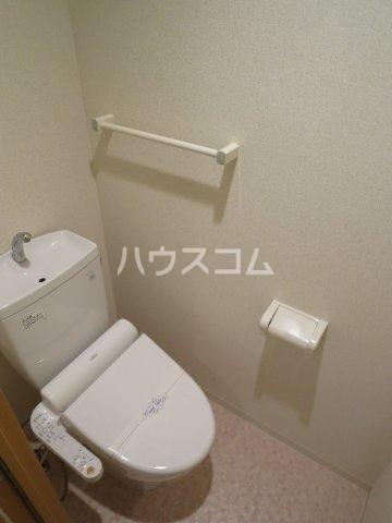 グランパ藤永田 402号室のトイレ