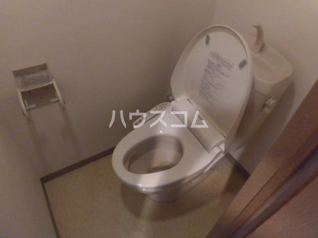 アピス 202号室のトイレ