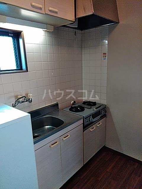 エクセル7 206号室のキッチン