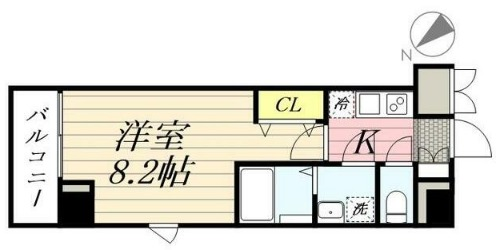 GRANPASEO田端 A・301号室の間取り