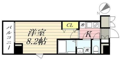 GRANPASEO田端 A・401号室の間取り