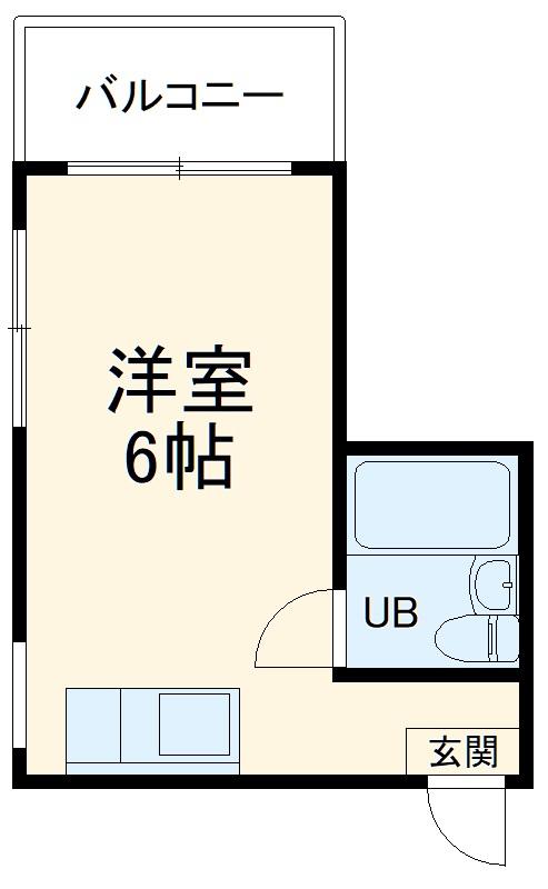 Kハウス南流山・302号室の間取り