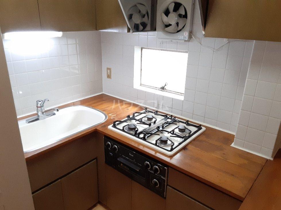元住吉コート 202302号室のキッチン