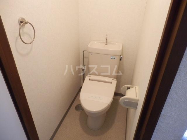 パルハウス萩原 602号室のトイレ