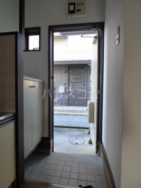 エンゼルハイツ 103号室の玄関