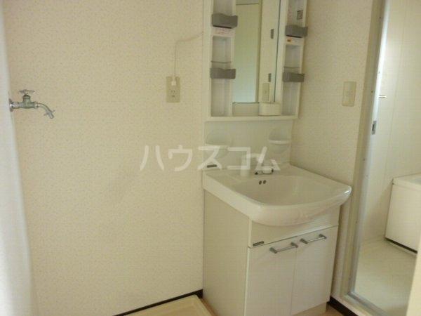 グリーンヒルズ中野木 403号室の洗面所