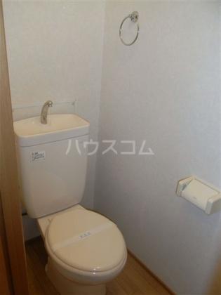 アヴァンセⅠ 102号室のトイレ