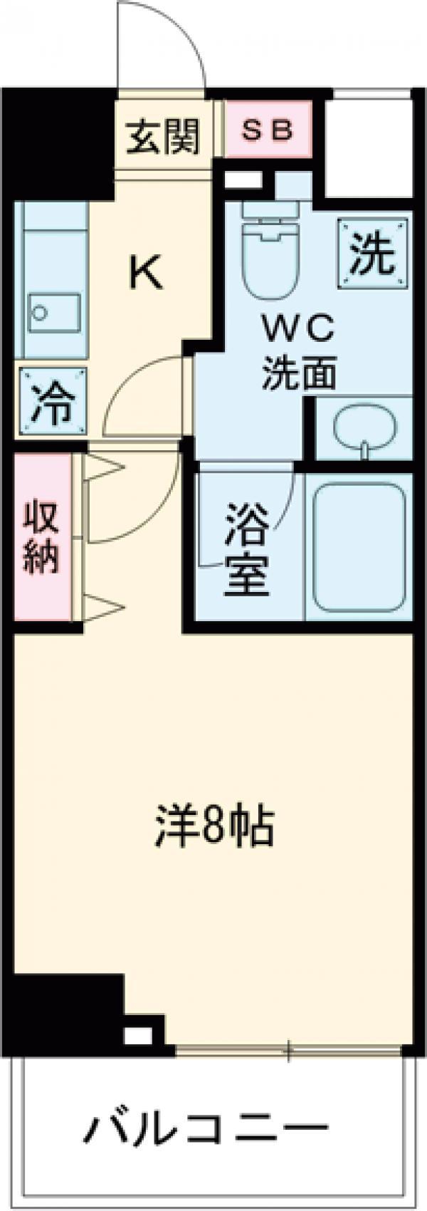 DeLCCS  IKEBUKURO・202号室の間取り