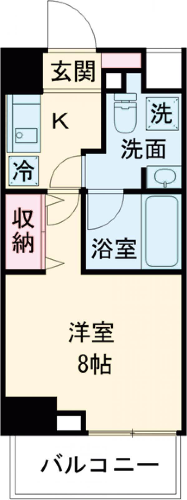 DeLCCS  IKEBUKURO・302号室の間取り