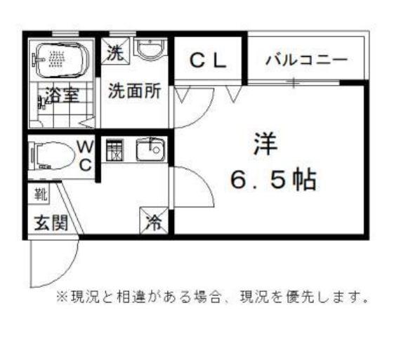 IE LAB Rent.吉井町・203号室の間取り